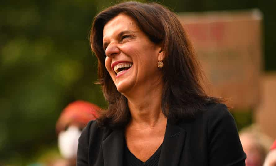 Former federal Liberal MP Julia Banks