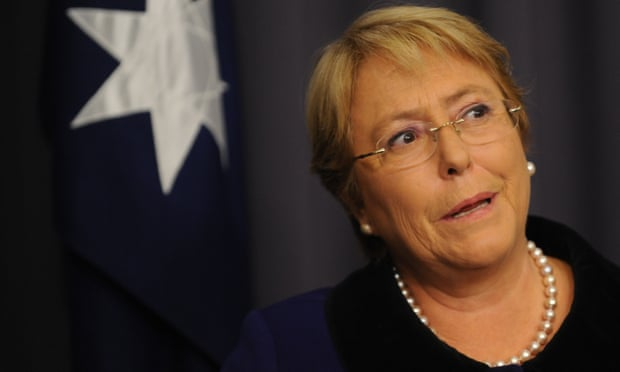 Michelle Bachelet says Australia has been examined by universal models it made