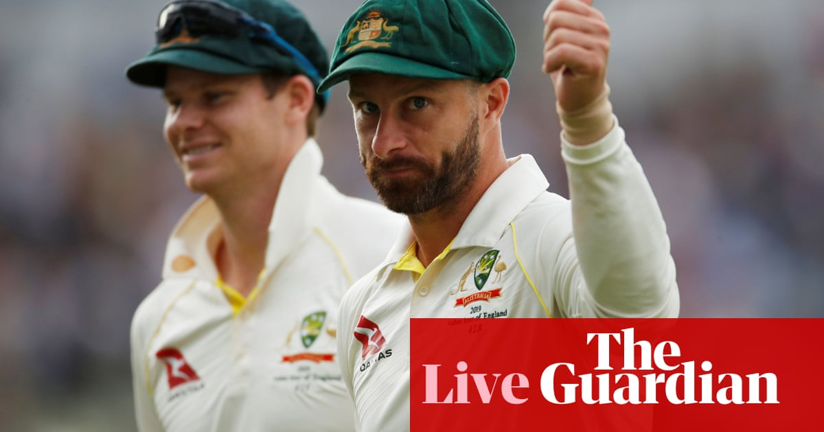 England chasing 398 to beat Australia in first Ashes Test: day four