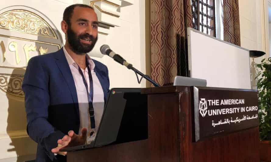 Karim Ennarah, head of the EIPR's criminal justice, was arrested hours before Gasser Abdel-Razek, EIPR chief.