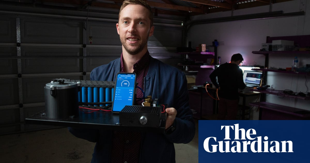 'Lightbulb moment': the battery technology invented in a Brisbane garage that is going global