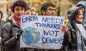 'The administration's disdain towards climate science has prompted some climatologists to consider leaving the profession'.