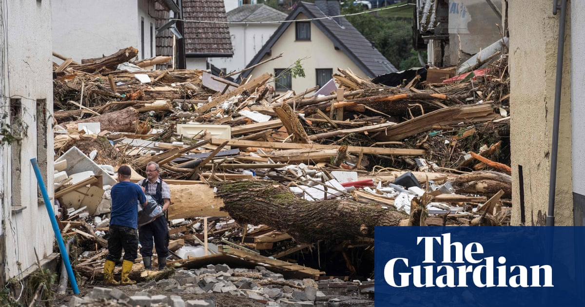 Germany floods: Merkel voices horror at 'catastrophe' amid search for estimated 1,300 missing