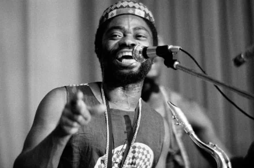Teddy Osei in 1974.