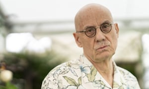 James Ellroy at Hay festival 2019