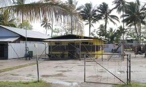 The Lorengau prison on Manus Island