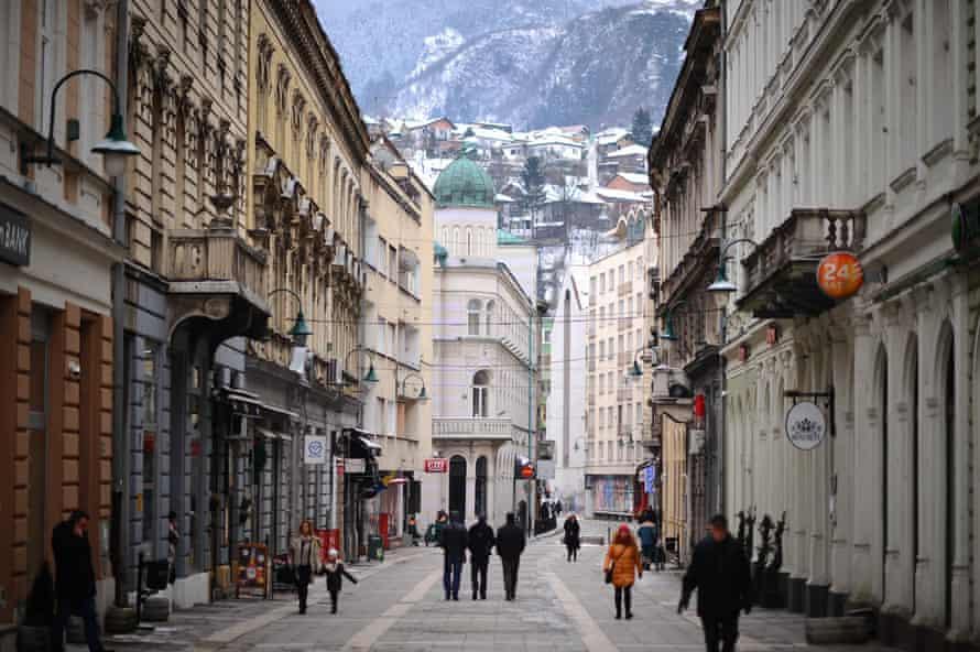 Daily life in Sarajev