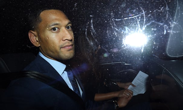 Vilification complaint against Israel Folau accepted by NSW anti-discrimination board