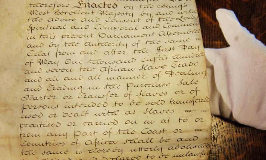 An act written on vellum