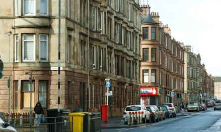 Flats in Govanhill, Glasgow.