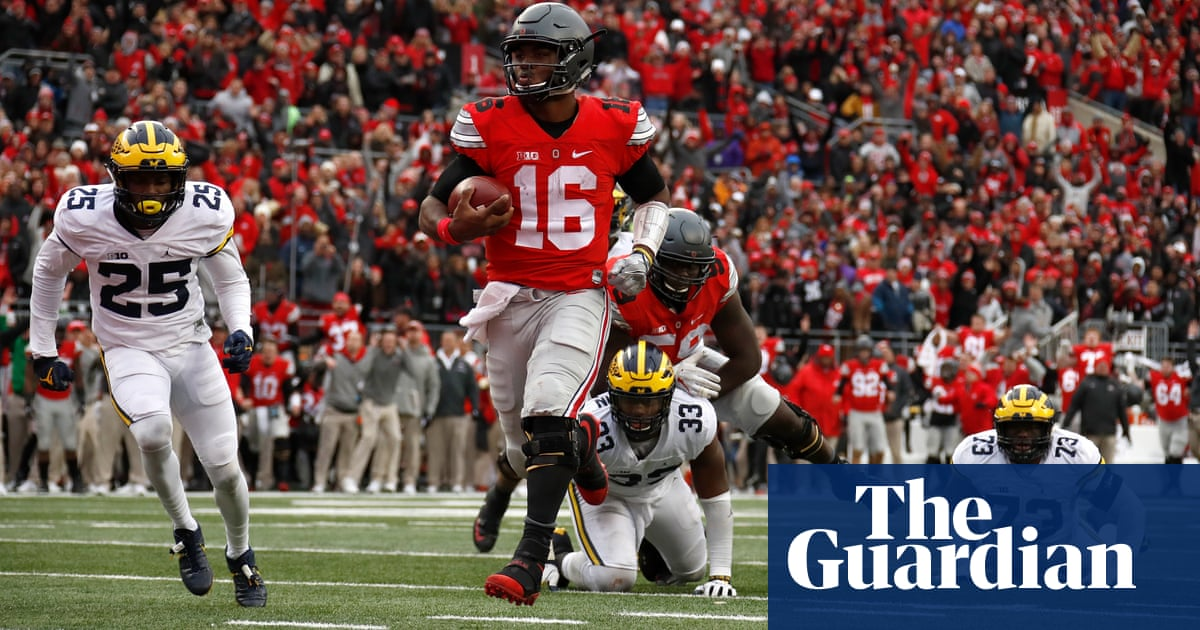 Ohio State University, home of Buckeyes, applies to trademark the word the