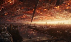 Aliens on the rampage … Independence Day: Resurgence.