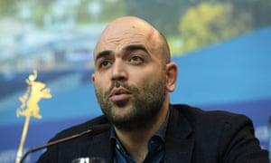 Author Roberto Saviano.