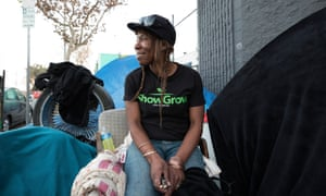LA resident Ressy, who is homeless. Alston will produce a final report next May, which will then go before the UN human rights council.