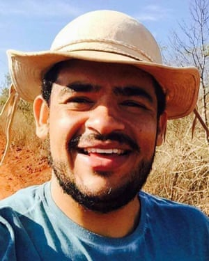 Márcio 'Marcinho' Matos was involved in the fight for rights of landless peasants in Bahia in north-east Brazil.