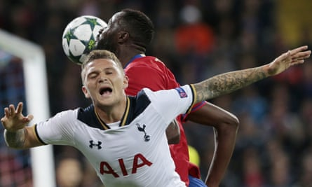 Kieran Trippier is trusted by Mauricio Pochettino to be the first-choice right-back, with Kyle Walker set to join Manchester City.