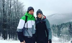 Dominika Tupá and her boyfriend Jakub