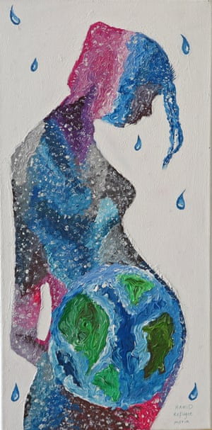 Mother earth by Hamid Heidari