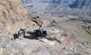 Petra: off the beaten track - a hike to Jabal Haroun