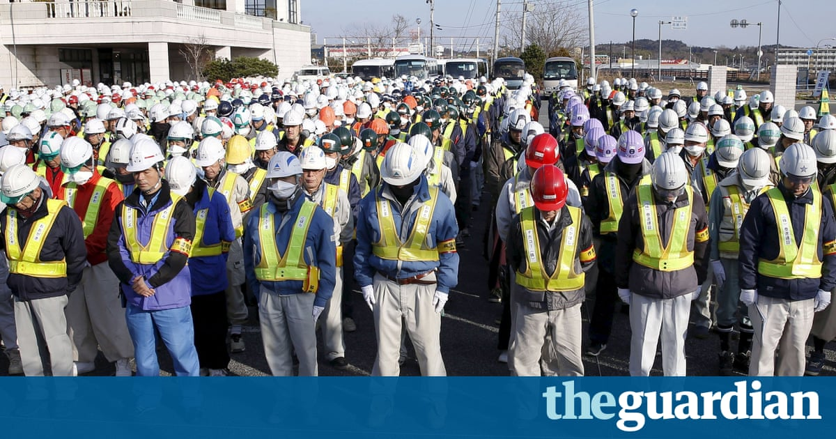 Japan marks fifth anniversary of tsunami and nuclear disaster     The Guardian Japan marks fifth anniversary of tsunami and nuclear disaster   World news   The Guardian