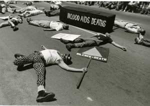 A San Francisco 'die-in' protest.