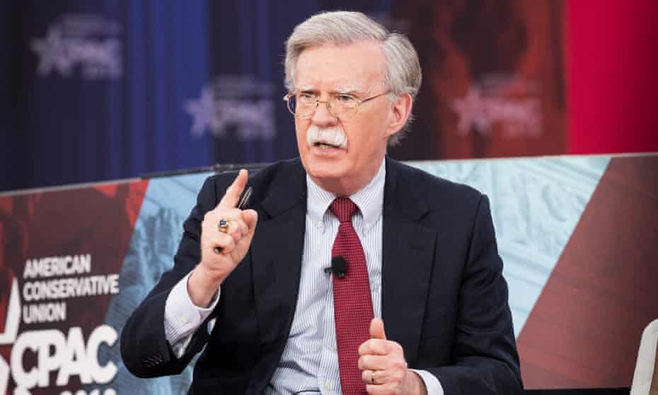 'Nothing is more chilling than the argument for attacking North Korea that Bolton sketched out in a Wall Street Journal op-ed just a few weeks ago.'