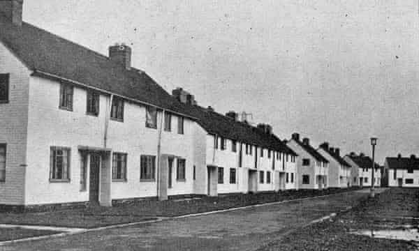 Oaklands Green on the Stowlawn estate, 1950.