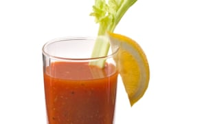 Bloody Mary: bloody hell. If you're going to have a vodka, just have a vodka.