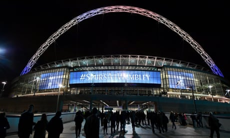 Tottenham granted permission to play 27 home games at Wembley
