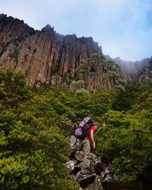 Climbing guide John Fischer.