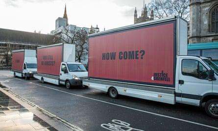 Grenfell billboards