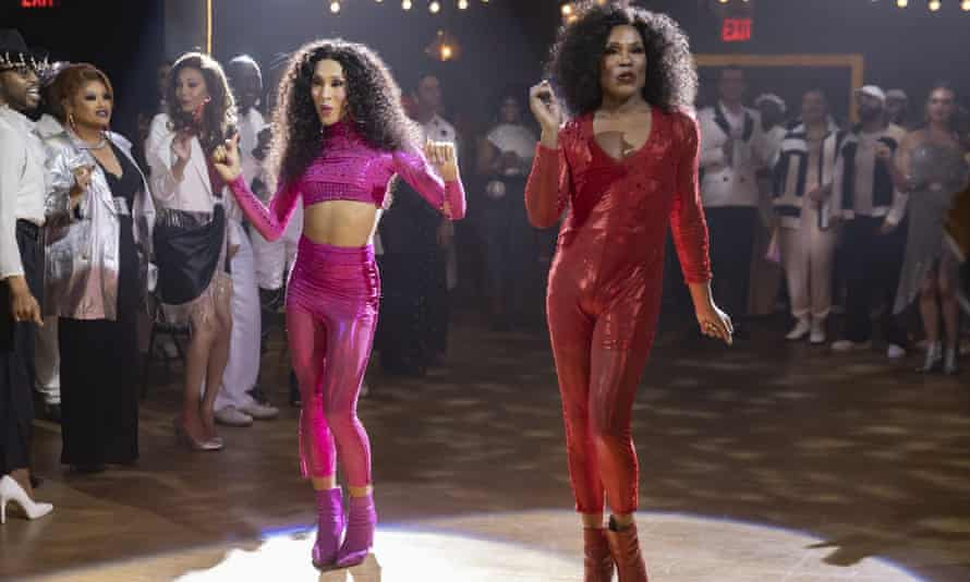 Rodriguez as Blanca, with Billy Porter as Pray Tell, in a scene from Pose.