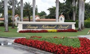 The Trump National Doral in Miami, Florida.