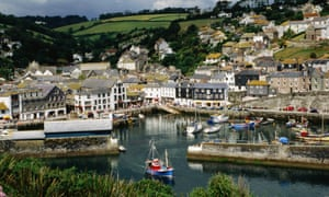 Mevagissey, Cornwall, where a quarter of properties are second homes.