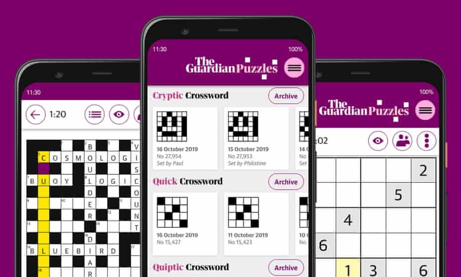 The Guardian Puzzles App