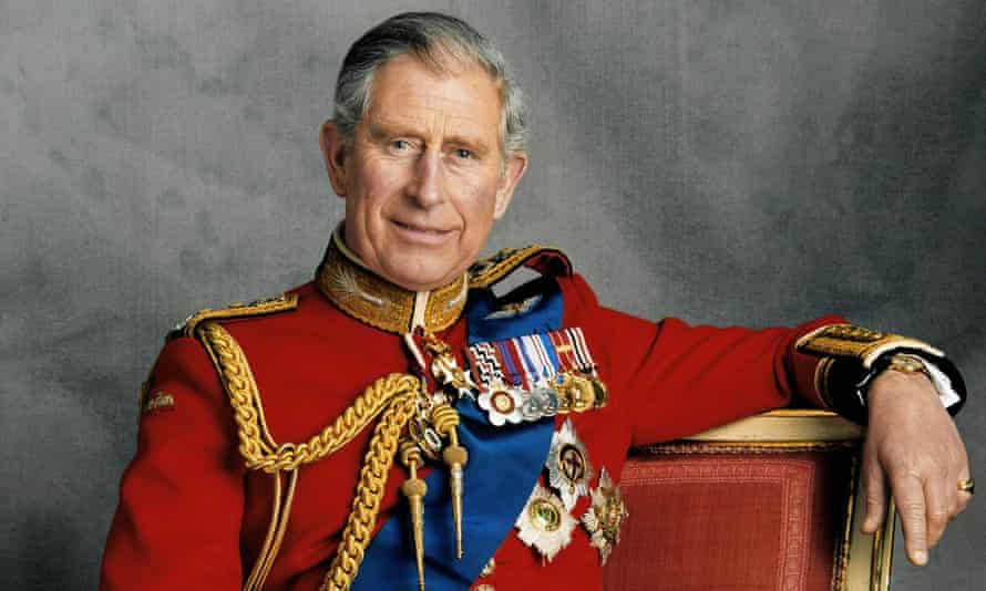 Prince Charles poses for an official portrait to mark his 60th birthday in 2008