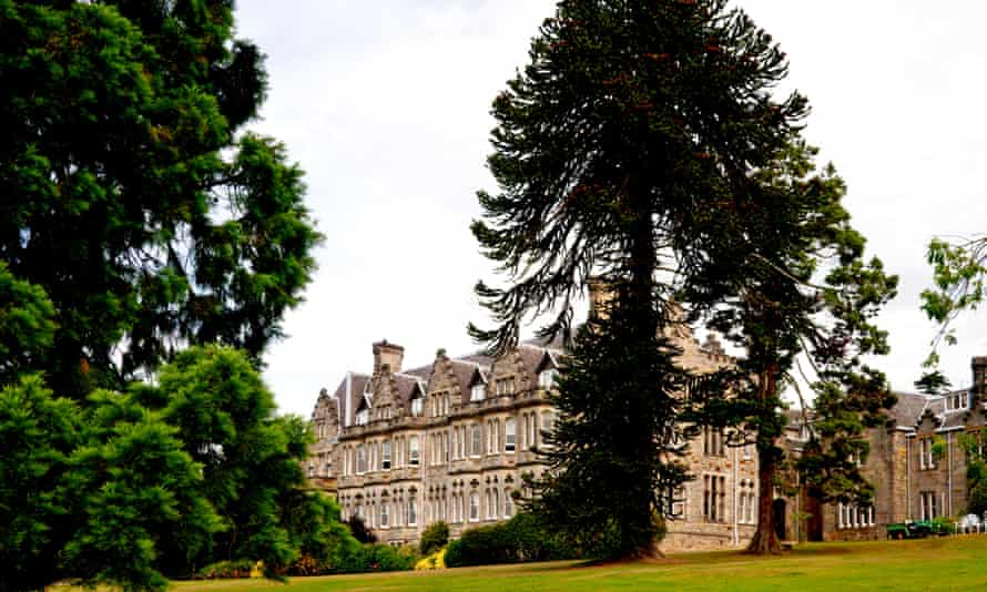 The grand Ashdown Park Hotel in Ashdown Forest
