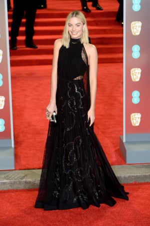 EE British Academy Film Awards - VIP ArrivalsLONDON, ENGLAND - FEBRUARY 18: Margot Robbie attends the EE British Academy Film Awards (BAFTAs) held at Royal Albert Hall on February 18, 2018 in London, England. (Photo by Dave J Hogan/Dave J Hogan/Getty Images)