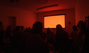 A screening at Mount Florida Screenings, Glasgow.