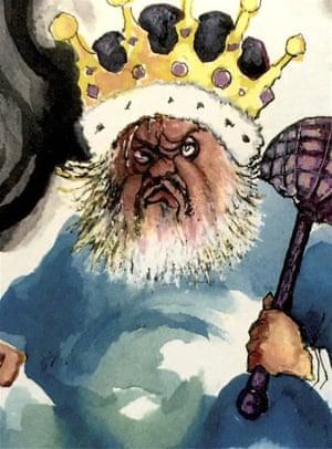 Royal self-portrait by Orson Welles