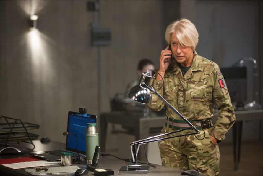 Mirren as Colonel Katherine Powell in Eye in the Sky.