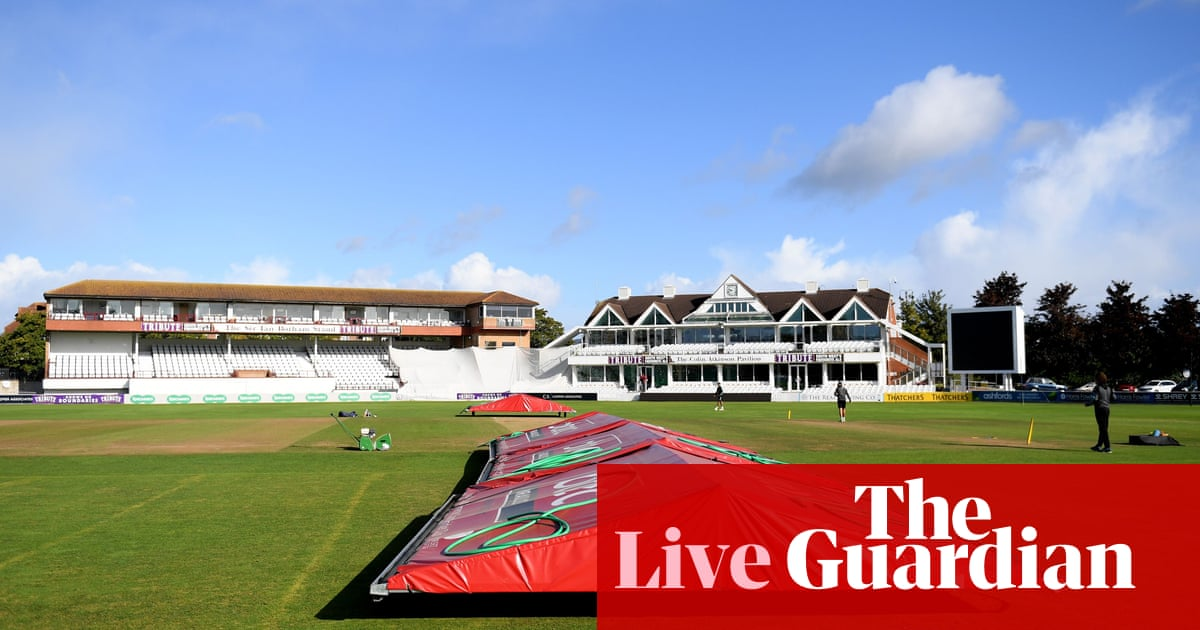 County cricket: weather-hit updates from Yorkshire, Bristol and more – live! | Sport | The Guardian