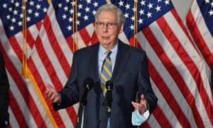 Mitch McConnell, US Senate majority leader, has been a dedicated opponent of climate action.