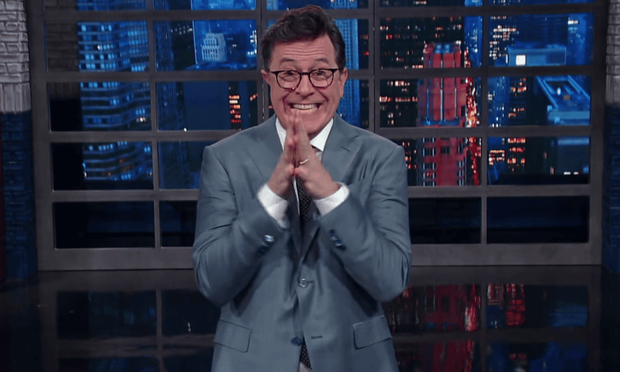 Stephen Colbert: 'I do occasionally use adult language and I do it in public instead of in the privacy of an Access Hollywood bus'