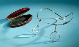 Headband spectacles, English, 1796.