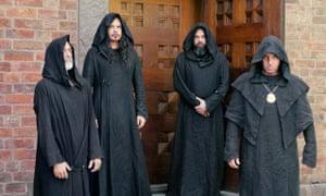 It's pronounced Sun! Doom metal quartet Sunn O))).