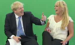 Boris Johnson, with Jennifer Arcuri, guest speaking at the Innotech Summit in July 2013