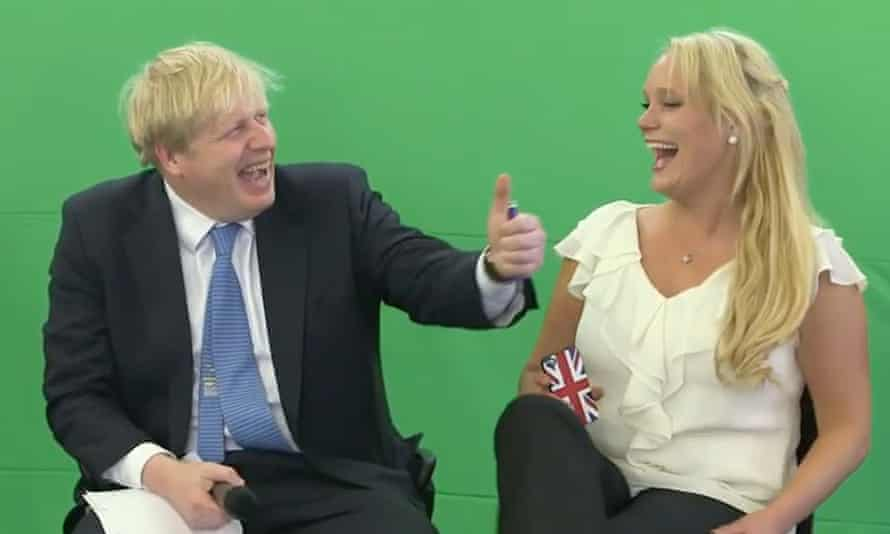 Boris Johnson with Jennifer Arcuri at the Innotech Summit in July 2013.