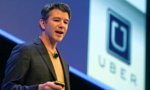 Travis Kalanick, former chief executive of Uber
