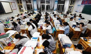 Overseas demand for taking the ACT and SAt tests has risen as more foreign students seek entry to US universities.